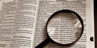 texto da Bíblia