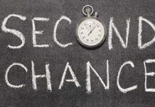 Deus nos dá uma segunda chance