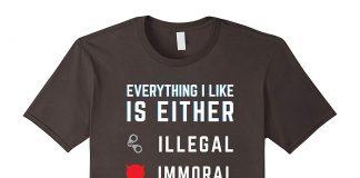 ilegal, imoral ou engorda